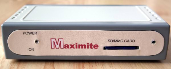 Front of the Maximite