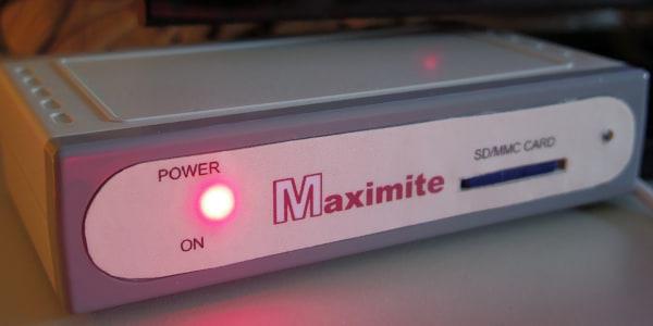 Maximite Powered ON