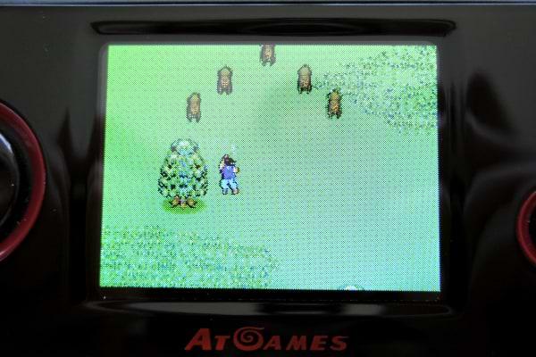Atgames arcade player screen