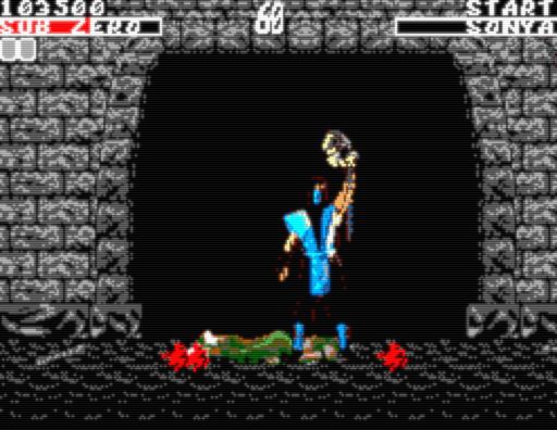 Screenshot: Sub Zero Fatality