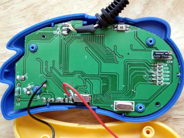 Circuit board - rear