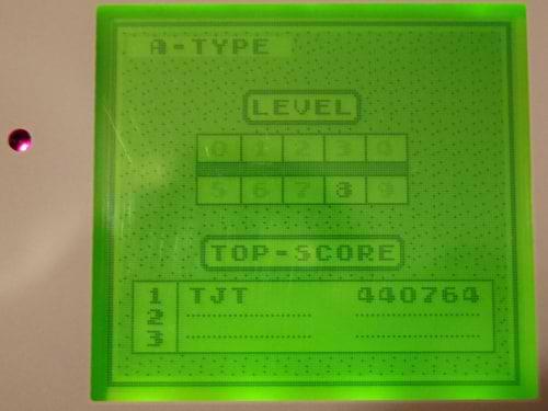 Game Boy A Type Hi-Score