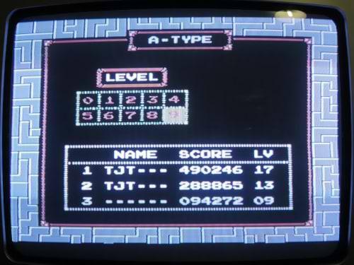 NES A Type Hi-Score